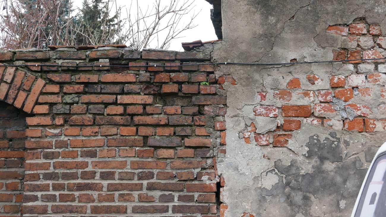 Mur, ul. Wojska Polskiego, Kórnik 2019