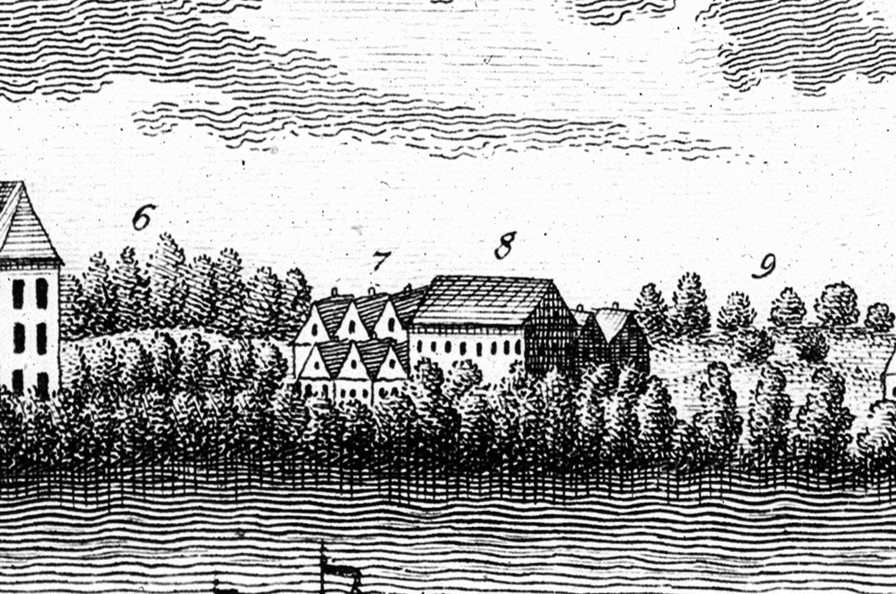 Stary spichlerz - Kórnik 1798 rok