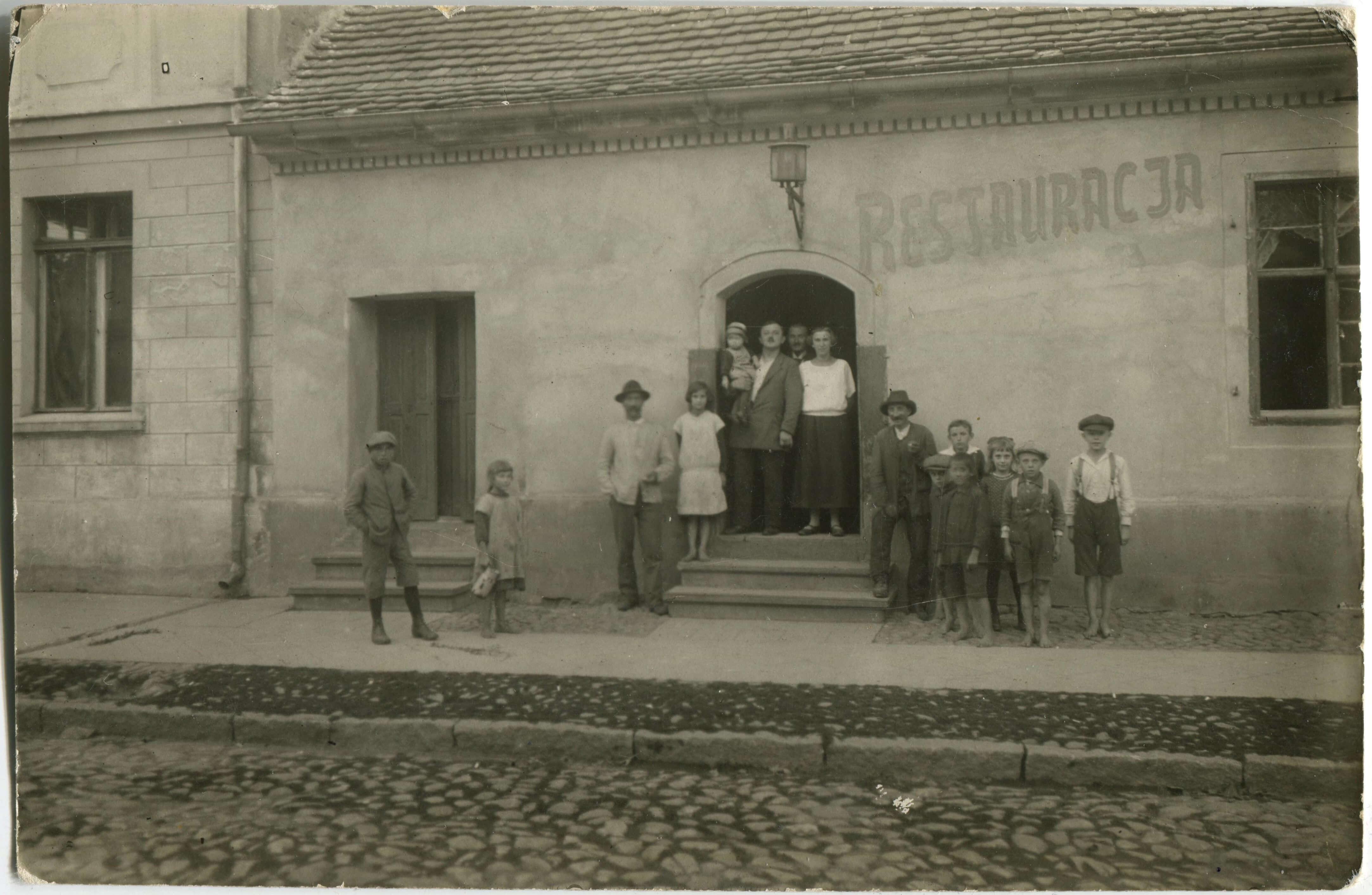 Restauracja Kórnik, Rynek - lata 20-te XX w.