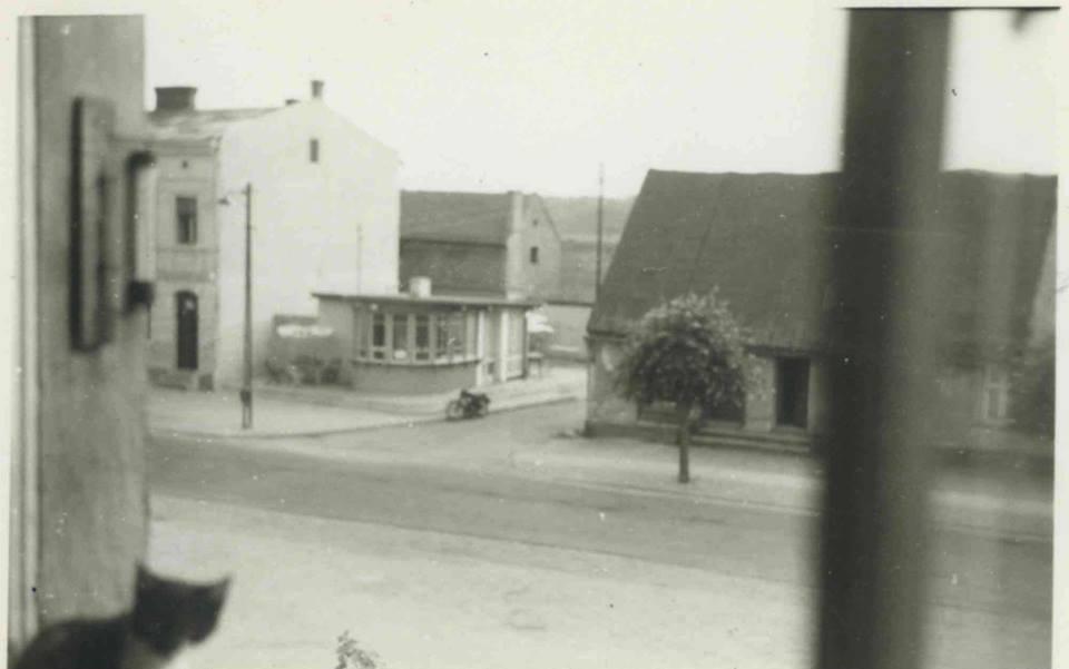 Widok z Banku Spółdzielczego w Kórniku na Perełkę