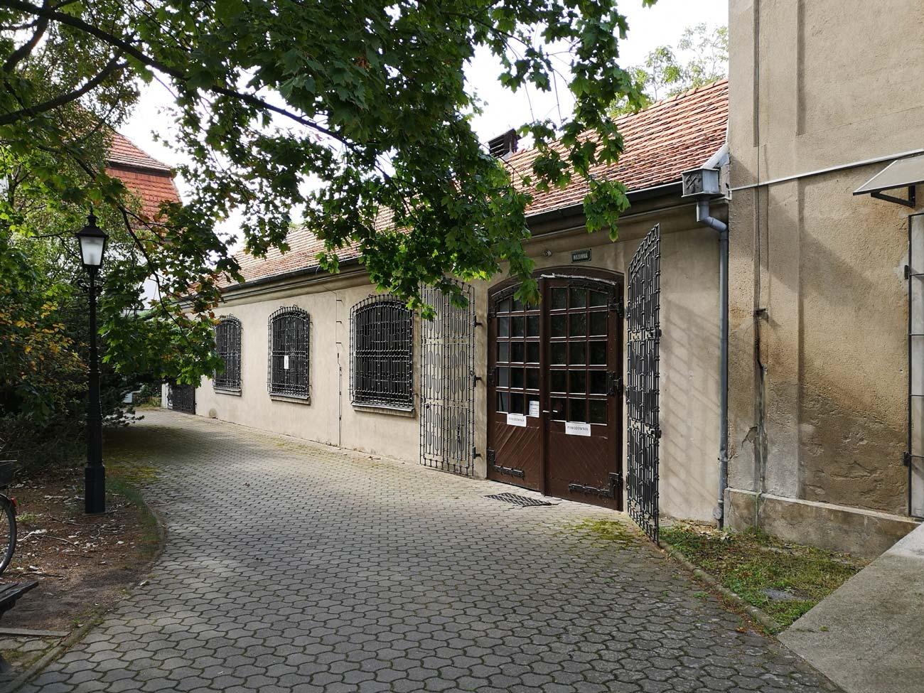 Wozownia Kórnik - dawna baza GS - 2019 rok