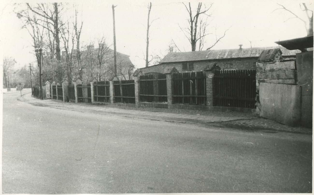 Baza spółdzielni Rolnik z Kórnika (obecnie Gminna Spółdzielnia Samopomoc Chłopska - 1972 rok