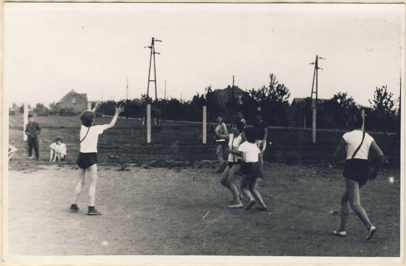 Spartakiada szkolna - Szkoła Podstawowa nr 1 w Kórniku - 1962 rok