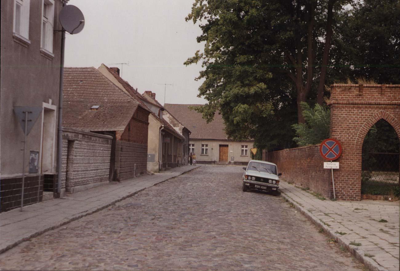 ulica Kolegiacka, Kórnik - lata 90.