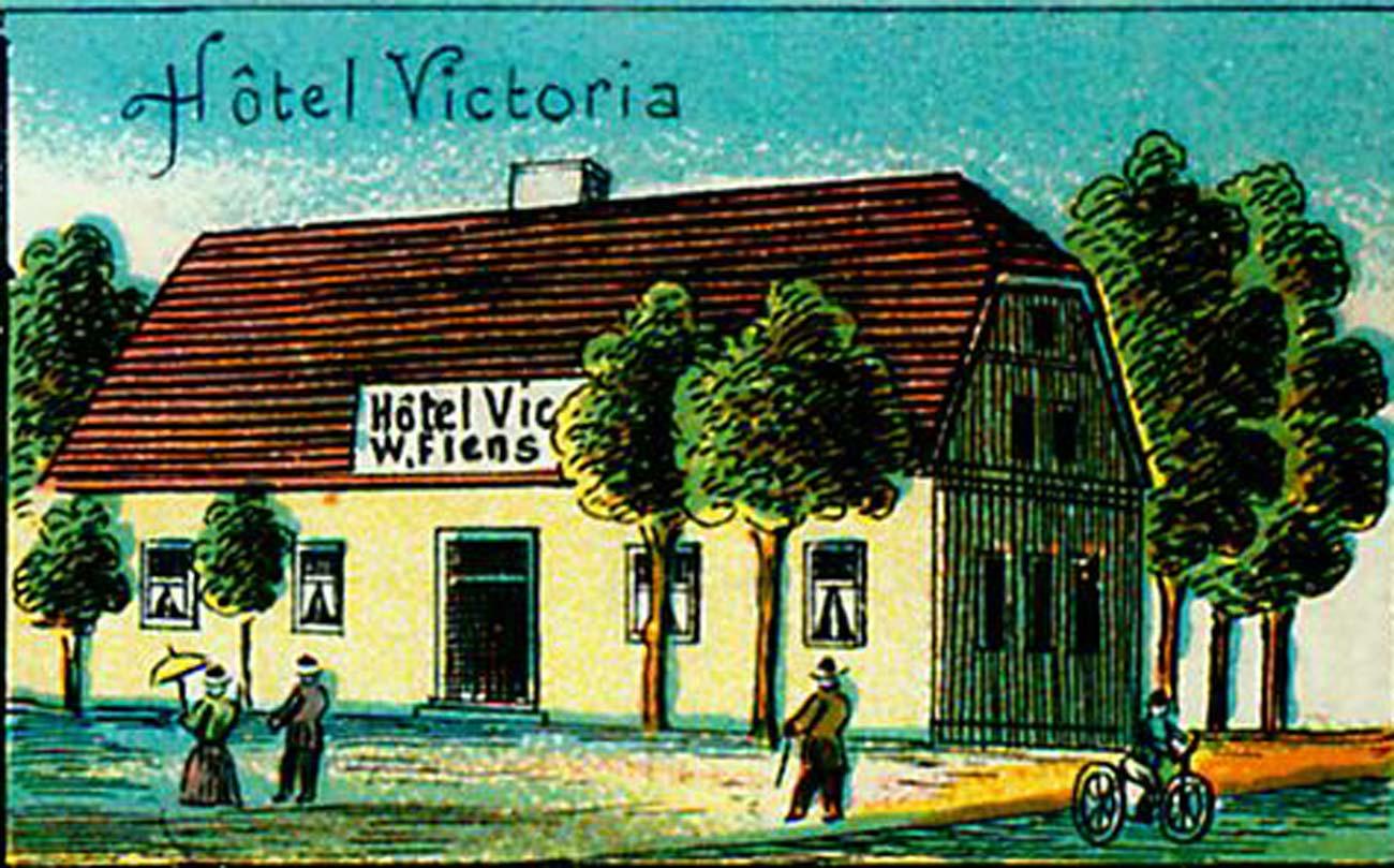 Hotel Victoria Wincenty Klemens Bnin 1900 rok