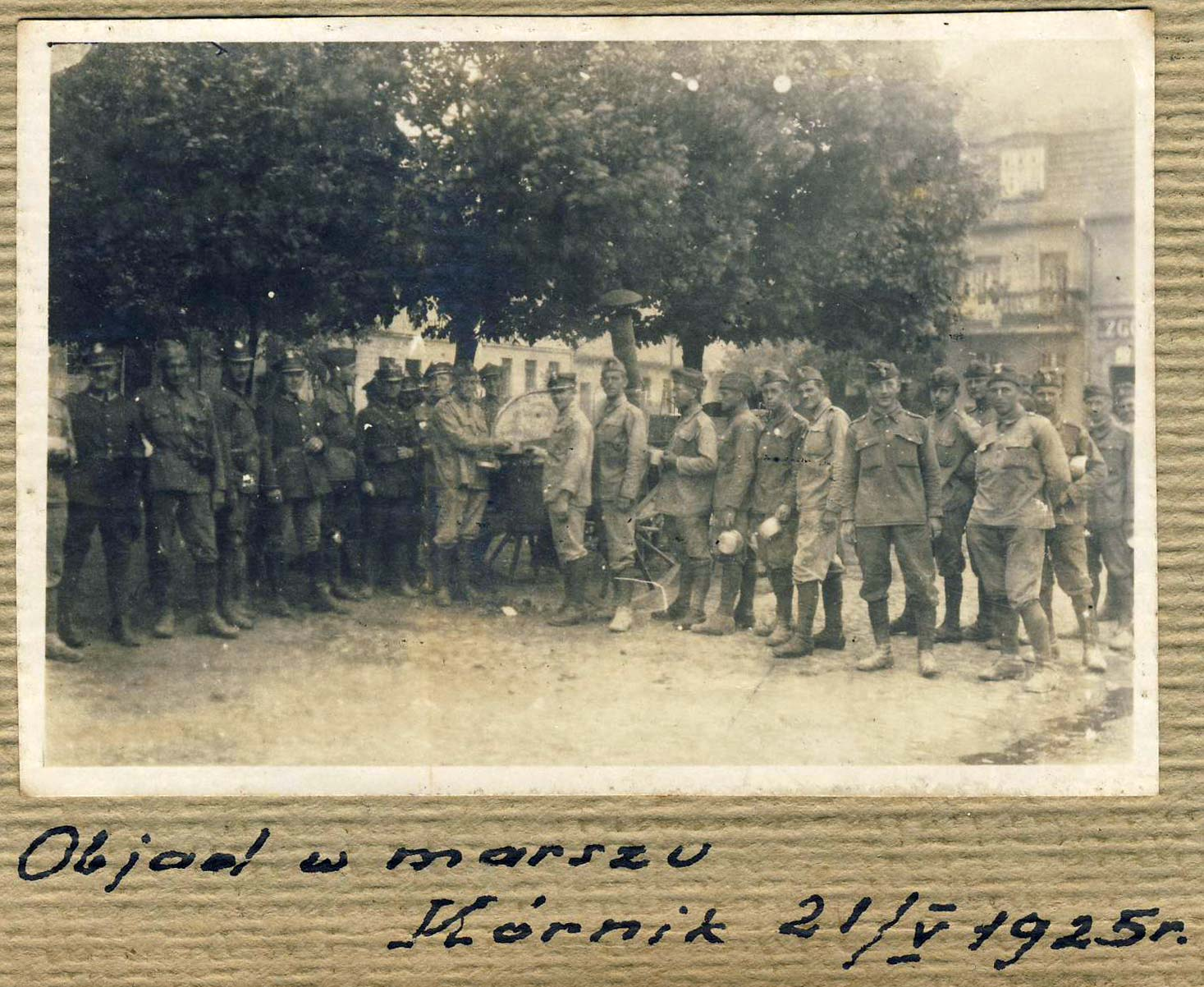Obiad w marszu – Kórnik 21.05.1925 r