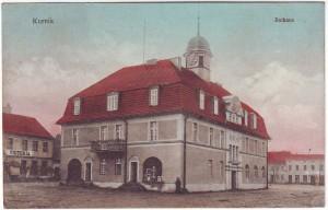 Ratusz w Kórniku 1912 rok