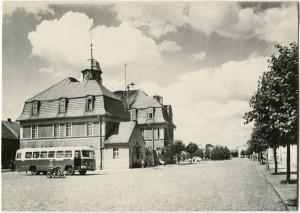 Ratusz w Kórniku - około 1960 rok.