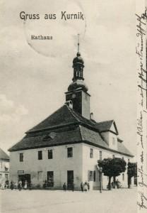 Ratusz w Kórniku z XVIII w.